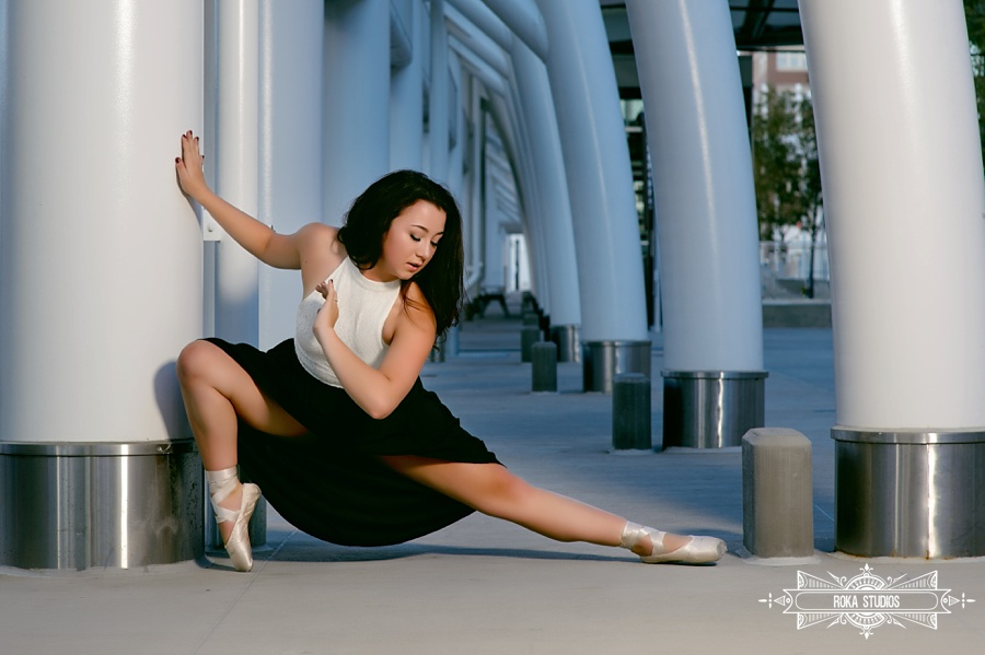 Denver Senior Pictures with ballet