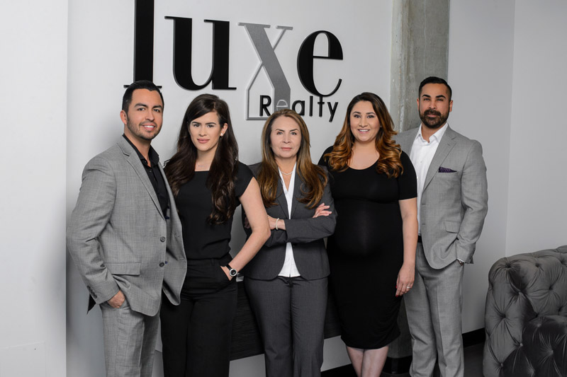 Luxe Realty Denver group team Headshot