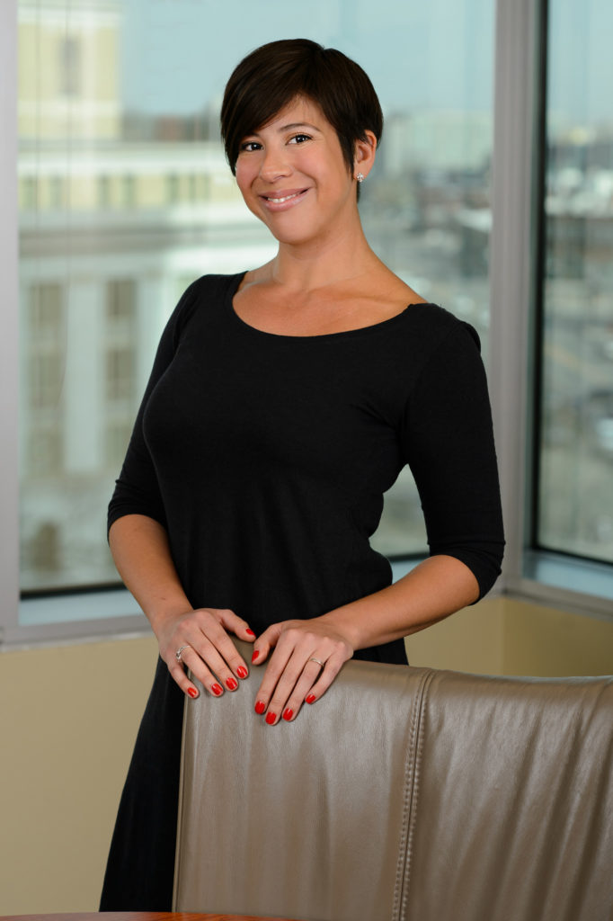 womens professional corporate headshots on location downtown denver colorado