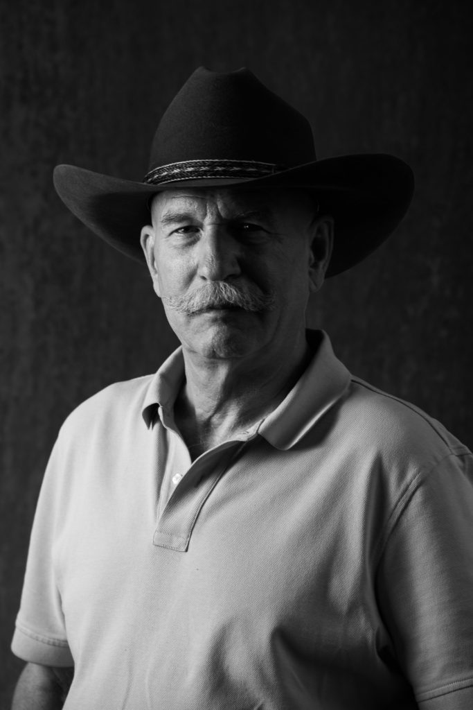 professional business headshots greyscale cowboy hat arvada colorado
