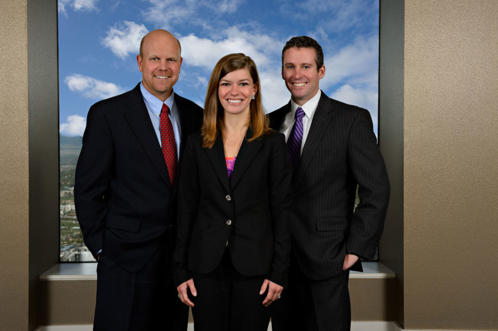 group corporate headshots on location in headquarters downtown lakewood co
