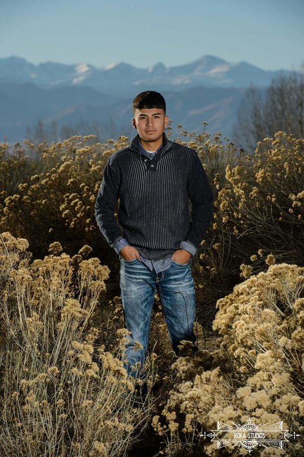 senior boy in colorado