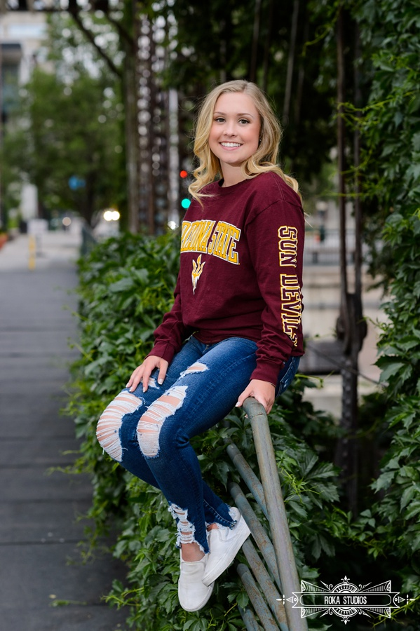 Senior photos in Denver