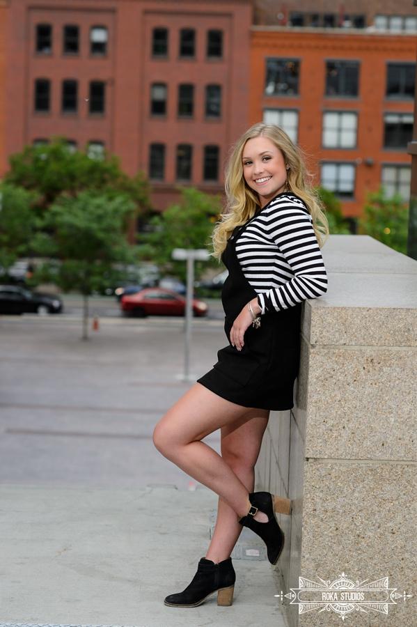 Senior photos in Denver