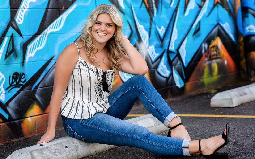 Senior Portraits in Denver | Kylie | Salida High School